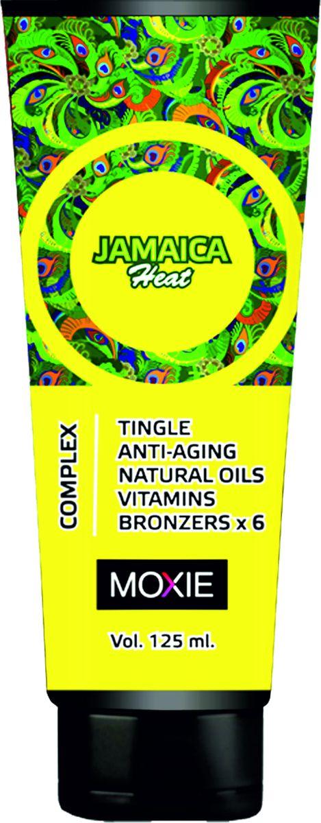 MOXIE Косметика для загара Jamaica Heat, 125 мл85Для тела, с комплексом 6-ти кратных бронзаторов, ДГА, тингл-эффект, увлажняющее средство, с ускорителями и усилителями. Максимально эффективный, мощный, разогревающий микс с комплексом бронзаторов нового поколения, обеспечивает очень быстрый и глубокий загар для уже загоревшей кожи. Обеспечивает роскошный уход за кожей, увлажняет и разглаживает ее. Быстро впитывается оставляя на коже приятный запах.