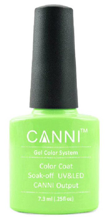 Canni Гель-лак для ногтей Colors, тон №82, 7,3 мл9706Гель-лак Canni – это покрытие для ногтей нового поколения, которое поставит крест на всех известных Вам ранее проблемах и трудностях использования Гель-лаков. Это самые качественные и самые доступные шеллаки на сегодняшний день. Canni Гель-лак может легко сравниться по качеству с продукцией CND, а в цене и вовсе выигрывает у американского бренда. Предельно простое нанесение, способность к самовыравниванию, отличная пигментация, безопасное снятие, безвредность для здоровья ногтей и огромная палитра оттенков – это далеко не все достоинства Гель-лаков Канни. Каждая женщина найдет для себя в них что-то свое, отчего уже никогда не сможет отказаться.