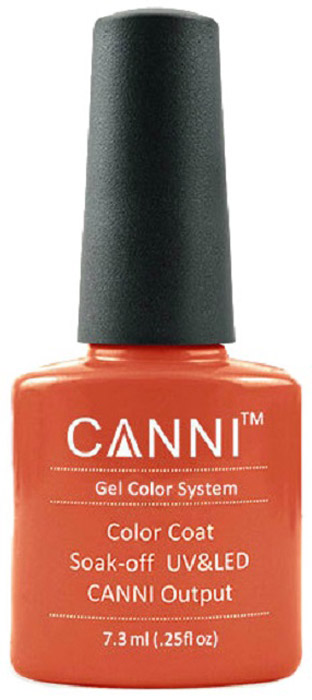 Canni Гель-лак для ногтей Colors, тон №136, 7,3 млJSS104Гель-лак Canni – это покрытие для ногтей нового поколения, которое поставит крест на всех известных Вам ранее проблемах и трудностях использования Гель-лаков. Это самые качественные и самые доступные шеллаки на сегодняшний день. Canni Гель-лак может легко сравниться по качеству с продукцией CND, а в цене и вовсе выигрывает у американского бренда. Предельно простое нанесение, способность к самовыравниванию, отличная пигментация, безопасное снятие, безвредность для здоровья ногтей и огромная палитра оттенков – это далеко не все достоинства Гель-лаков Канни. Каждая женщина найдет для себя в них что-то свое, отчего уже никогда не сможет отказаться.