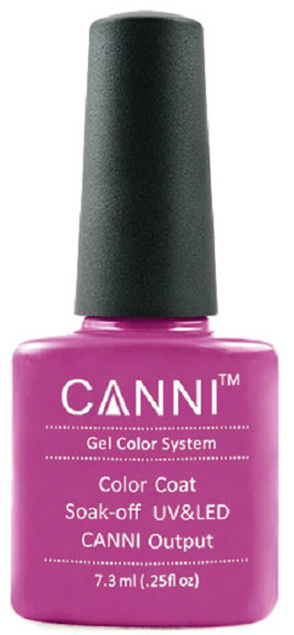 Canni Гель-лак для ногтей Colors, тон №179, 7,3 мл9775Гель-лак Canni – это покрытие для ногтей нового поколения, которое поставит крест на всех известных Вам ранее проблемах и трудностях использования Гель-лаков. Это самые качественные и самые доступные шеллаки на сегодняшний день. Canni Гель-лак может легко сравниться по качеству с продукцией CND, а в цене и вовсе выигрывает у американского бренда. Предельно простое нанесение, способность к самовыравниванию, отличная пигментация, безопасное снятие, безвредность для здоровья ногтей и огромная палитра оттенков – это далеко не все достоинства Гель-лаков Канни. Каждая женщина найдет для себя в них что-то свое, отчего уже никогда не сможет отказаться.