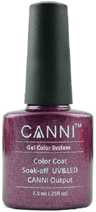 Canni Гель-лак для ногтей Colors, тон №196, 7,3 млE7231Гель-лак Canni – это покрытие для ногтей нового поколения, которое поставит крест на всех известных Вам ранее проблемах и трудностях использования Гель-лаков. Это самые качественные и самые доступные шеллаки на сегодняшний день. Canni Гель-лак может легко сравниться по качеству с продукцией CND, а в цене и вовсе выигрывает у американского бренда. Предельно простое нанесение, способность к самовыравниванию, отличная пигментация, безопасное снятие, безвредность для здоровья ногтей и огромная палитра оттенков – это далеко не все достоинства Гель-лаков Канни. Каждая женщина найдет для себя в них что-то свое, отчего уже никогда не сможет отказаться.