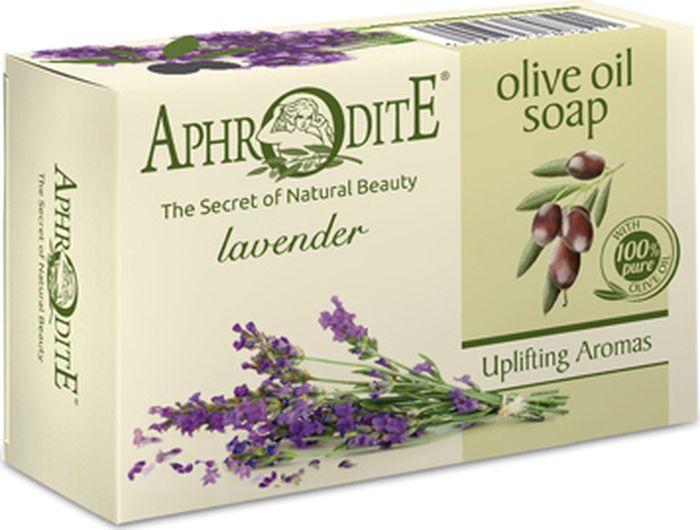 Мыло оливковое с лавандой Aphrodite, 100 грZ-83Оливковое мыло с лавандой на основе критского оливкового масла изготовлено из натуральных ингредиентов по старинным греческим рецептам. Богато полезными микроэлементами и витаминами. Оказывает антибактериальное,успокаивающее и увлажняющее действие на кожу лица и тела.Нежное средство с расслабляющим цветочным запахом помогает снять стресс и усталость. 100% натуральный продукт. Не содержит консервантов, животных жиров и искусственных красителей.