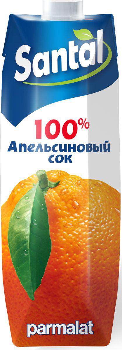 Santal Сок Апельсиновый, 1 л5060295130016Апельсиновый сок для детского питания, восстановленный