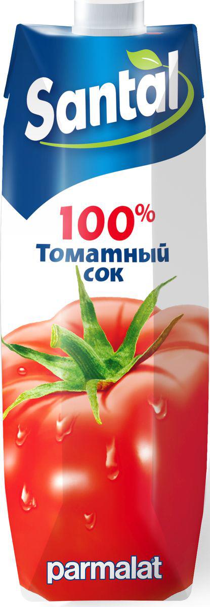 Santal Сок Томатный, 1 л547746Томатный сок для детского питания, восстановленный.