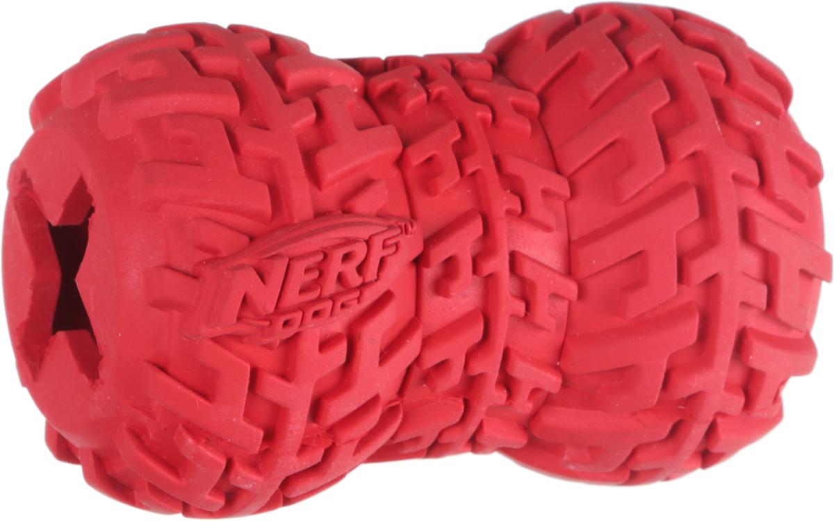 Игрушка-кормушка для собак Nerf Шина, цвет: красный, длина 7 смsh-07023MИгрушка-кормушка для собак Nerf Шина изготовлена из сверхпрочной резины, что обеспечивает долговечность использования. Игрушка имеет уникальный рисунок протектора шины. Полость внутри игрушки предназначена для любимого лакомства вашего питомца. Подходит для собак с самой мощной челюстью.Размеры игрушки: 7 х 5 х 5 см.