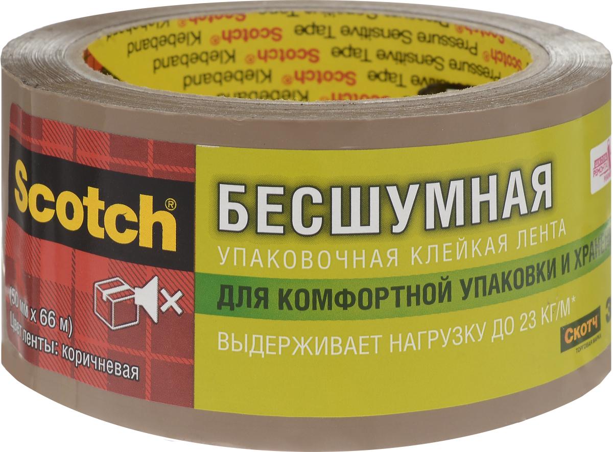 Клейкая лента Scotch, упаковочная, цвет: коричневыйS5066F6BУпаковочная лента Scotch - универсальный материал, надежно обеспечивающий целостность любых упаковок и сохранность предметов, помещенных в коробки, ящики и т.д. Благодаря особой технологии нанесения клеевого состава она разматывается практически бесшумно.Характеристики:Размер ленты: 5 см х 66 м. Изготовитель: Италия.Уважаемые клиенты! Обращаем ваше внимание на возможные изменения в дизайне упаковки. Качественные характеристики товара остаются неизменными. Поставка осуществляется в зависимости от наличия на складе.
