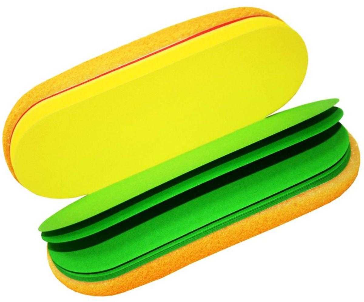Карамба Блокнот Багет 60 листов36Оригинальный блокнот выполнен в виде багета (60 разноцветных листов). Индивидуально упакован.