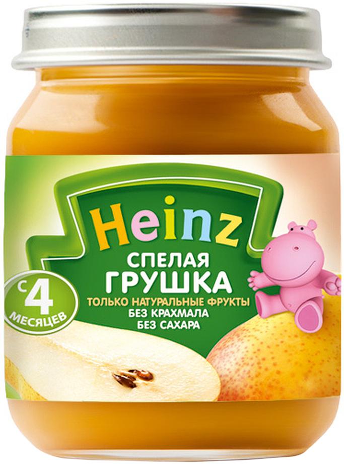Heinz пюре спелая грушка, с 4 месяцев,120 г70144100Продукт готов к употреблению. Нужное количество подогреть, не добавляя сахара. Не разогревать повторно