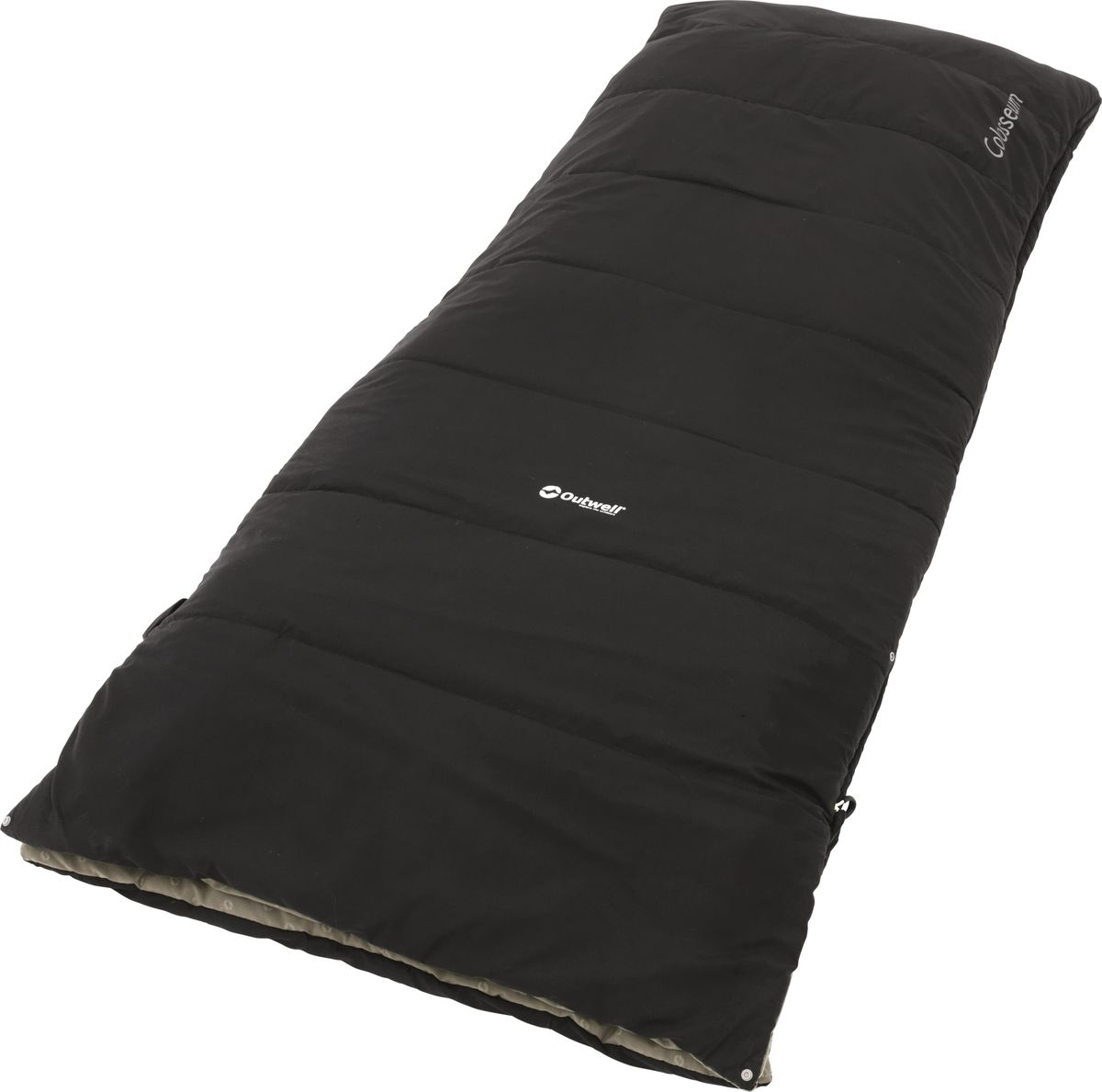 Спальный мешок Outwell Colosseum, цвет: черный, 200 x 80 см230180Спальный мешок Outwell Colosseum имеет молнии с двух сторон. Одна молния на всю длину спальника, вторая до половины. В каждом спальном мешке используется двойной слой термоизоляции Isofill, предусмотрен внутренний карман, возможность раскрывания в одеяло и петли для крепления вкладыша.Особенности:Защита молнии для тепла на полную длину.Два мешка можно состегнуть в один двухместный.Угловые петли крепления вкладыша.Упаковочный мешок.Расстегнуть и использовать как одеяло.