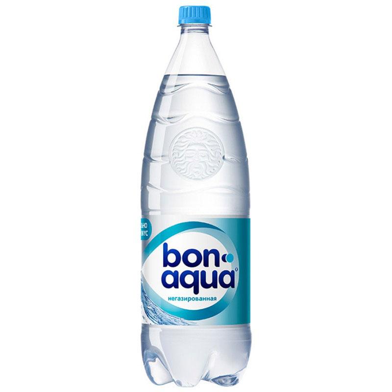 BonAqua Вода чистая питьевая негазированная, 2 л4860019001353Bon Aqua - это кристально чистая питьевая вода, высокого качества.Bon Aqua - известная и любимая в России марка. Производство воды Bon Aqua началось в Германии в 1988 году. В России запуск питьевой воды Bon Aqua был успешно осуществлен в 1994 году.Bon Aqua проходит 7-ми ступенчатую систему очистки и водоподготовки. Производится в строгом соответствии с высочайшими стандартами качества компании Coca-Cola. Содержит минеральные элементы (Ca, Mg). Общая минерализация: 50-500 мг/л. Общая жесткость: 1,5-7 мг-экв/л.Открытую бутылку хранить в холодильнике, продукт употребить в течение 24 часов.Уважаемые клиенты! Обращаем ваше внимание, что перечень химического состава продукта представлен на дополнительном изображении.Упаковка может иметь несколько видов дизайна. Поставка осуществляется в зависимости от наличия на складе.