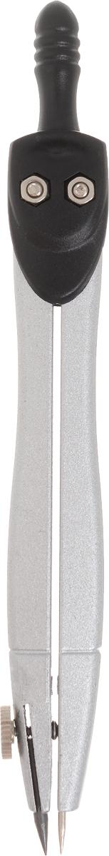 MagTaller Циркуль Harppi Compact цвет черный0703415Циркуль MagTaller Harppi Compact предназначен для учащихся средних классов.Металлический циркуль длиной 115 мм оснащен фиксированной иглой, пластиковым держателем и негнущимся коленом.Циркуль имеет пластиковый футляр. Благодаря высокому качеству материалов и сборки, надежные чертежные инструменты прослужат вам много лет.