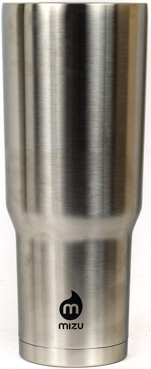 Термостакан Mizu Tumbler 30, цвет: стальной, 890 мл813551022038Удобный стальной стакан с крышкой Mizu Tumbler 30 - правильная альтернатива бумажным одноразовым стаканам. Mizu Tumbler обладает не только внушительным объемом, но и удобно ляжет в руку, позволяя наслаждаться горячим кофе из термоса или соседней кофейни или холодным более крепким напитком, сохраняя вкус и температуру напитка. Объем: 890 мл. Диаметр: 9,5 см. Высота (с крышкой): 23,2 см. Вес: 364 г.