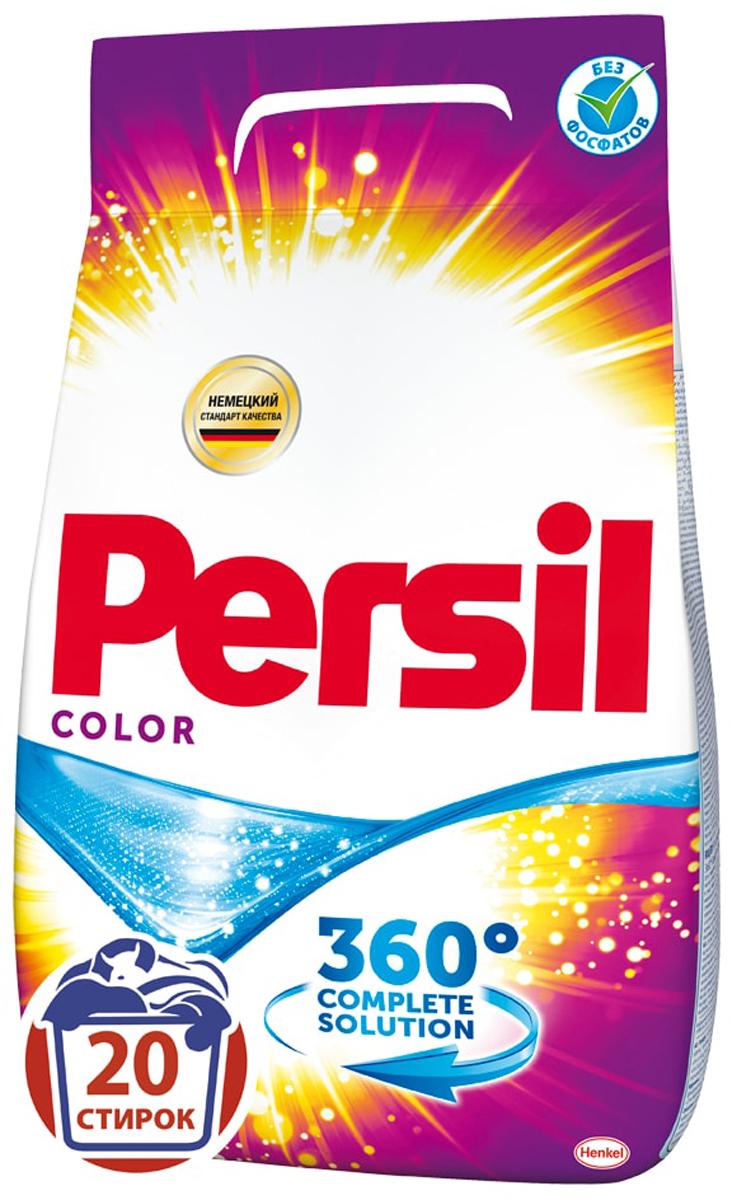 Стиральный порошок Persil Color, 3 кг1004900000360Стиральный порошок Persil Color - это стиральный порошок с инновационной формулой, которая содержит активные капсулы пятновыводителя. Эти капсулы быстро растворяются в воде и начинают действовать на пятно уже в самом начале стирки. Благодаря эксклюзивному компоненту, Persil Colorотлично удаляет даже сложные пятна, а специальные цветозащитные компоненты сохраняют яркие цвета ткани. Кроме того, он делает белье белоснежным и придает ему свежий аромат. Подходит для стирки цветных и белых изделий из х/б, льняных, синтетических тканей и тканей из смешанных волокон в стиральных машинах-автоматах в воде любой жесткости. Состав: 5-15% анионные ПАВ, кислородсодержащий отбеливатель, Товар сертифицирован.
