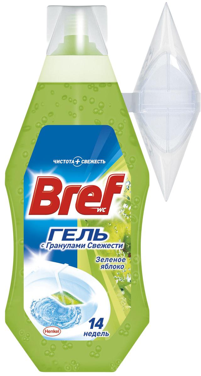 Освежитель для туалета Bref Гель Зеленое Яблоко 360мл904631Освежитель для туалета Bref Гель обеспечивает чистоту и превосходный свежий аромат после каждого смывания. Упаковки Bref Гель 360мл хватает на 14 недель использования! Повесьте корзинку на край унитаза и наполните гелем Bref, как показано на рисунке на упаковке продукта.Состав: 5-15% анионные ПАВ, неионогенные ПАВ; отдушка (в т.ч. лимонен, гексилциннамаль), полимеры, лимонная кислота, краситель; вода.Товар сертифицирован.