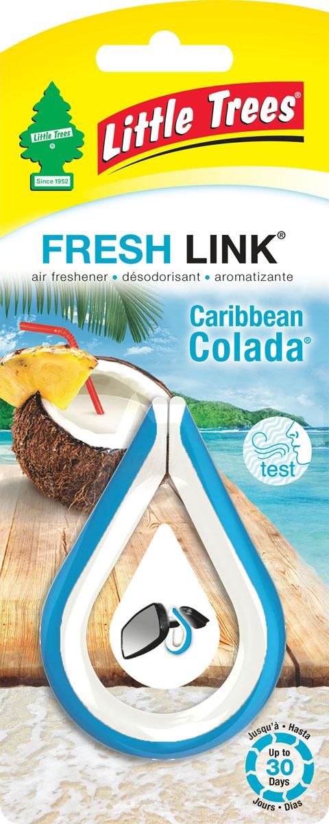 Ароматизатор-клипса Little Trees Карибский коктейль (Caribbean Colada)2019705Освежитель воздуха Little Trees уникален по эффективности действия, насыщенности и стойкости запаха. Подходит для использования в салоне автомобиля, а также в помещениях.