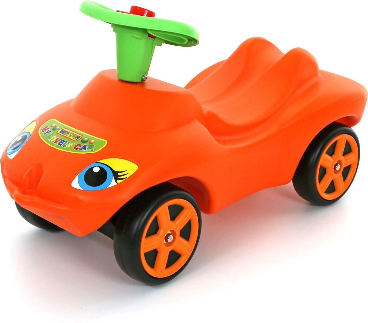 Полесье Каталка Мой любимый автомобиль цвет оранжевый 44600