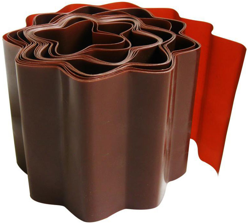 Лента бордюрная Frut, цвет: коричневый, 20 х 900 смYW-27Размер: 20 х 900смМатериал: пластикЦвет: коричневыйПредназначена для оформления кромок газонов и клумб. Изготовлена из гибкого материала, что позволяет оформлять клумбы любой формы.