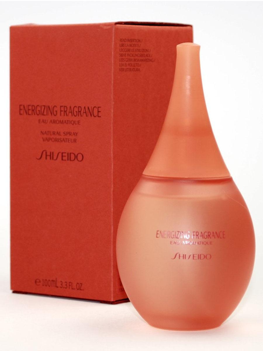 Shiseido Парфюмированная вода женская Energizing, 100 мл3816Цветочные. Анис, гелиотроп, жасмин, ирис, ландыш, роза, древесина, мускус, гвоздика, перец.