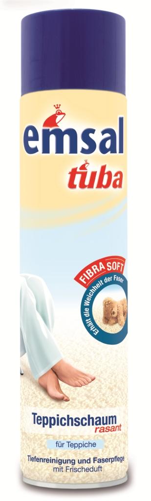 Пена-аэрозоль для чистки ковров Tuba, 600 мл787502Пена-аэрозоль Tuba основательно чистит все виды ковровых покрытий. Удаляет сильные загрязнения с дорожек. Не оставляет после себя мелкого мусора и предотвращает быстрое повторное загрязнение.Подходит для частого применения. Придает коврам ухоженный вид.Товар сертифицирован.