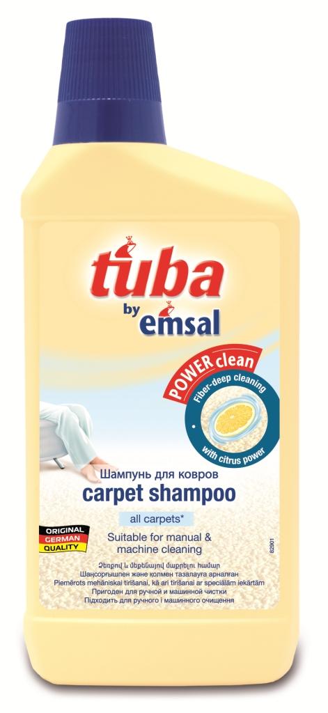 Шампунь для ковров Tuba, 500 млHD-8000SXШампунь для ковров Tuba очищает основательно все натуральные и синтетические ковры, не оставляя липких остатков. Преимущества шампуня для ковров Tuba:предохраняет от быстрого загрязнения;приспособлен для машинной чистки;эффективно очищает даже самые трудно выводимые загрязнения; не имеет сильного неприятного запаха;безвреден для животных;легко сбивается в пену и наносится щеткой. Характеристики:Объем: 500 мл. Производитель: Германия.Товар сертифицирован.