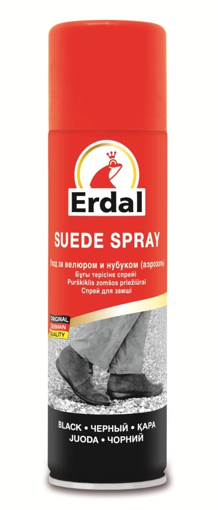 Средство по уходу за велюром и нубуком Erdal, 250 мл100Средство с высококачественным фторсодержащим составом подходит для всех видов обуви из велюра и нубука, ухаживает за кожей и восстанавливает цвет. Характеристики:Объем: 250 мл. Производитель: Германия.