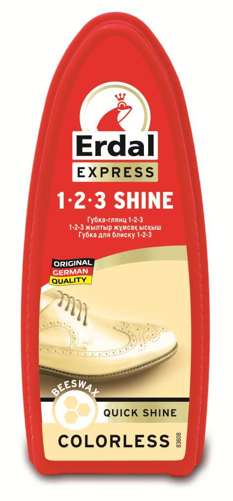 "Губка-глянец для обуви ""Erdal"", цвет: бесцветный, 75 мл"