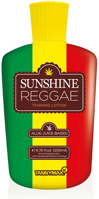 Tannymaxx Крем-ускоритель для загара 6th Sense Sunshine Reggae, без бронзаторов, на основе алоэ вера и конопляного масла, 200 мл - Аксессуары и средства для солярия