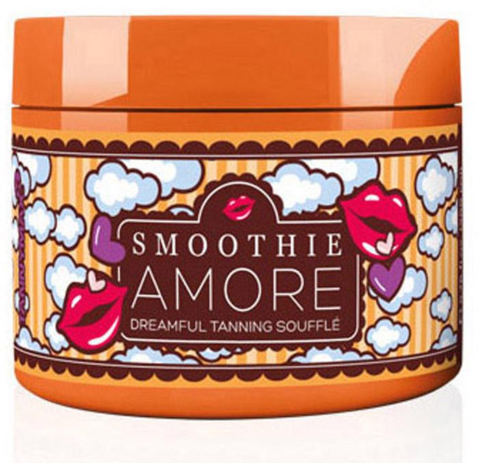 Tannymaxx Ускоритель загара крем-суфле 6th Sense Smoothie Amore Dreamful Tanning Souffle, для чувствительной кожи на основе алоэ вера, 200 мл1843Профессиональное средство для загара с мягкой и нежной текстурой суфле, специально разработанное для очень чувствительной кожи. Основан на соке Алоэ вера, который идеально увлажняет кожу и укрепляет соединительную ткань, помогает ускорить метаболизм и обновление клеток, делая кожу гладкой и красивой. Содержит специальные ингредиенты,которые ускоряют естественный загар кожи на солнце или в солярии. Масло ши и масло купуасу обеспечивают интенсивный уход за кожей, а также защищают ее отсухости. Экстракт манго богат витаминами и минералами - он защищает кожу от свободных радикалов, а благодаря своим лечебным свойствам, восстанавливает и питает ее. Экстракты абрикоса и ананаса в комплексе с витаминами A, C и E дарят коже свежий вид, обогащая ее энергией. Подходит для лица и тела.