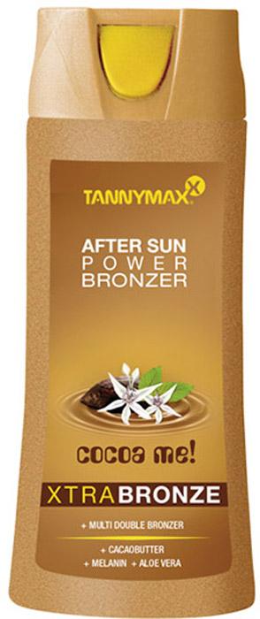 Tannymaxx Крем после загара Classic After Sun Power Bronzer, с бронзатором 4-х кратного воздействия со Slimming-эффектом, 250 млAC-2233_серыйИдеальное завершение Вашего загара! Обеспечивает превосходный основной уход и продлевает жизнь Вашему загару, поддерживая глубокий темный оттенок благодаря бронзатору 4-х кратного воздействия. Комплекс карнитина и кофеина заряжает кожу энергией и оказывает slimming-эффект. Масло ши и Алоэ вера тонизируют и увлажняют кожу, защищают ее от свободных радикалов, увеличивают синтез коллагена. Масло какао интенсивно питает кожу, делая ее гладкой и бархатистой. Витамины А, С и Е защищают кожу от потери влаги и от неблагоприятных факторов окружающей среды.