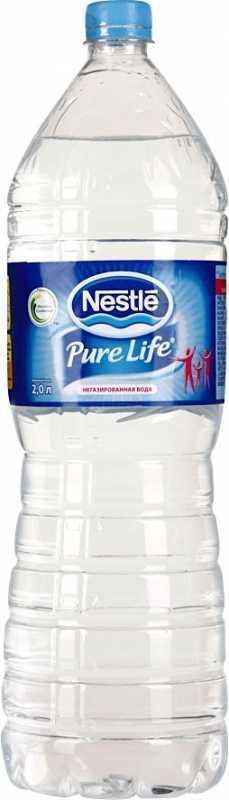 Nestle Pure Life вода негазированная, 2 л4670006830237Вода питьевая артезианская первой категории, глубокой очистки, кондиционированная Nestle Pure Life. Вода с мягким освежающим вкусом, которая содержит все необходимые человеческому организму макроэлементы. Произведена под контролем Nestle.