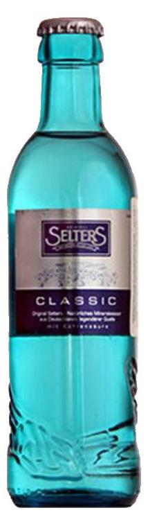 Selters вода минеральная газированная, 0,275 л стекло0120710Вода минеральная питьевая лечебно-столовая газированная Selters