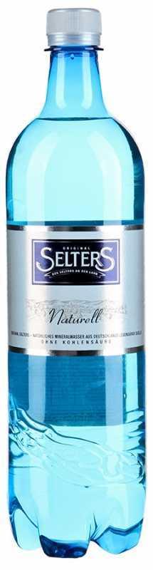 Selters вода минеральная негазированная, 1 л0120710Вода минеральная питьевая лечебно-столовая негазированная Selters