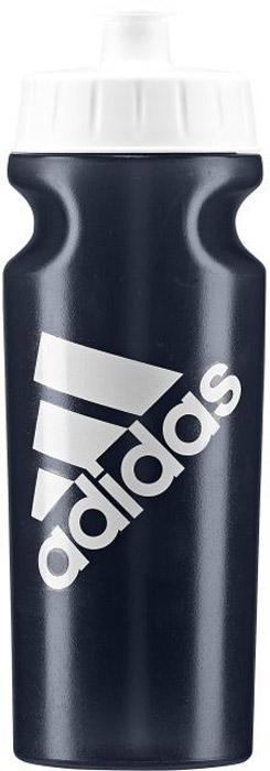 Спортивная бутылка Adidas Perf Bottl, цвет: синий, 500 мл. BR6782BR6782Употребление достаточного количества жидкости - важная часть спортивного режима. Благодаря эргономичной форме и компактному дизайну бутылку Adidas Perf Bottl удобно носить в руках, а так же она подходит к большинству велосипедных холдеров.Модель украшена контрастным логотипом adidas. .Не содержит бисфенол А.Объем: 500 мл.Логотип adidas.