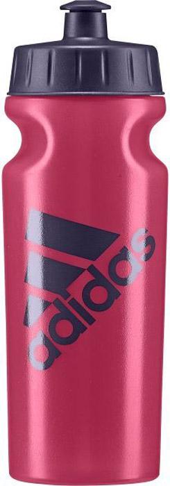 Спортивная бутылка Adidas Perf Bottl, цвет: розовый, 500 мл. BR6784BR6784Употребление достаточного количества жидкости - важная часть спортивного режима. Благодаря эргономичной форме и компактному дизайну бутылку Adidas Perf Bottl удобно носить в руках, а так же она подходит к большинству велосипедных холдеров.Модель украшена контрастным логотипом adidas. .Не содержит бисфенол А.Объем: 500 мл.Логотип adidas.