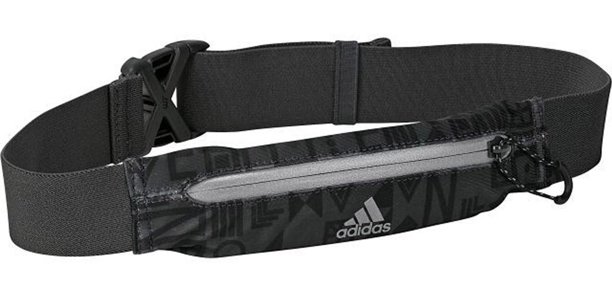 Сумка на пояс Adidas R G Belt, цвет: черный. BR7884L39289000Ремень на пояс, с отделением для мелочей.
