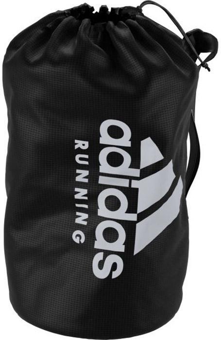 Сумка на пояс Adidas Run Bag, цвет: черный. S963542100706Сумка adidas Performance выполнена из текстиля. Вместительное внутреннее пространство, кулиска, регулируемый ремень.