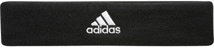 Повязка на голову для бега Adidas Ten Headban, цвет: черный. S97910. Размер 54/55S99780Вязаная повязка для бега Adidas поможет ни на секунду не выпускать мяч из поля зрения. Вышитый логотип Adidas по центру дополняет образ. Ширина: 5 см.