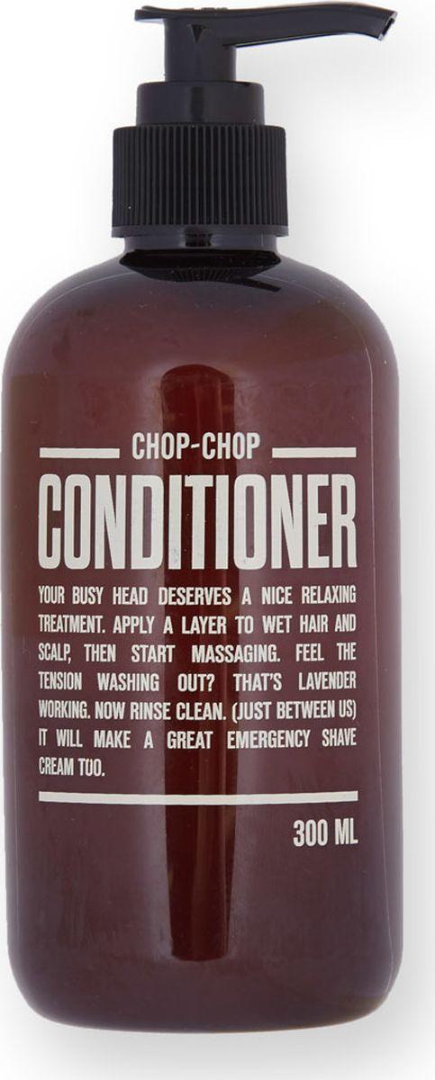 Chop-Chop Кондиционер для волос, 300 млCHPCHP.CDTR.Средство для дополнительного ухода – бальзам, смягчающий волосы и созданный, чтобы работать в паре с шампунем Chop-Chop. Обладает легким освежающим эффектом. Объем: 300 мл.