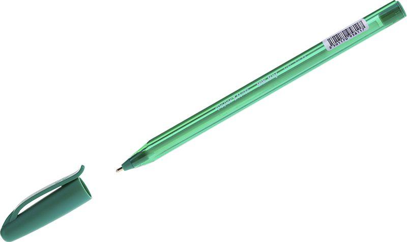 Paper Mate Ручка шариковая InkJoy 100 зеленаяS0957150Высококачественная шариковая ручка. Система подачи чернил обеспечивает мягкое письмо без пропусков. Ручка идеальна для применения в офисе, школе или дома. Современный дизайн. Цвет корпуса аналогичен цвету чернил, материал - полупрозрачный пластик. Шарик из нержавеющей стали: увеличенный срок службы.