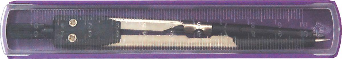 Perfecta Готовальня Premiere 1 предмет O.CE/M_O.CE/M_Циркуль 110 мм металлический с пластиковым держателем и фиксированной иглой. В пенале с линейкой.