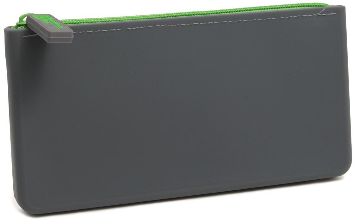 Феникс+ Пенал цвет серый43782Пенал школьный без наполнения.Размер: 20х10см.Материал: силикон.Застежка: молния.Цвет: серый.