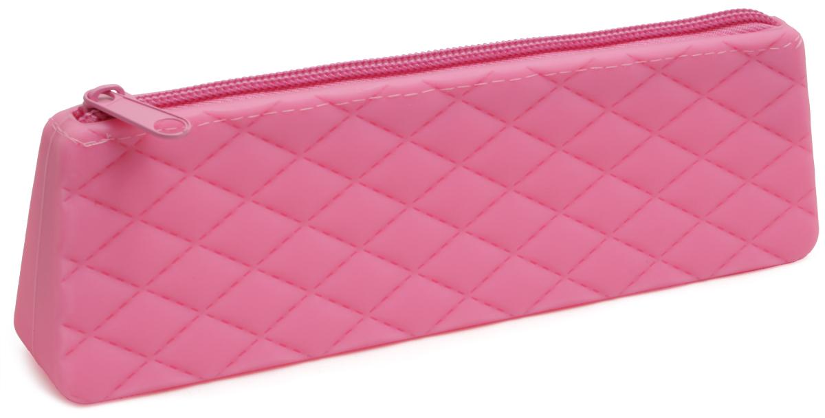 Феникс+ Пенал цвет розовый 4380643806Пенал школьный без наполнения.Размер: 20x6х3 см.Материал: силикон.Застежка: молния.Цвет: розовый.