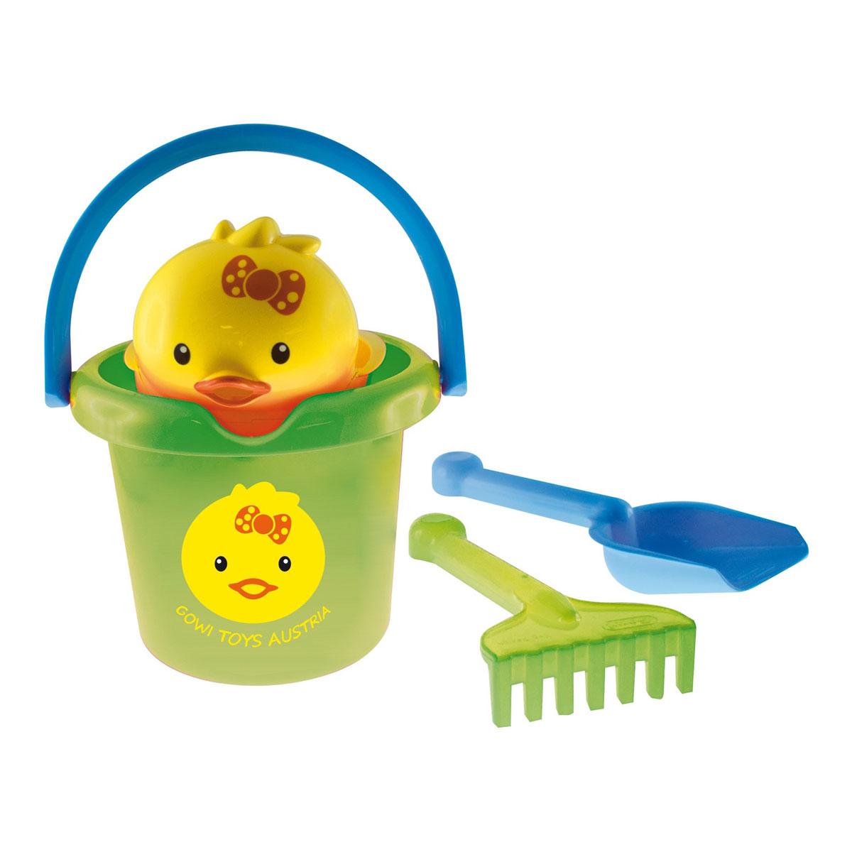 Gowi Набор игрушек для песочницы Цыпленок 4 предмета - Игры на открытом воздухе