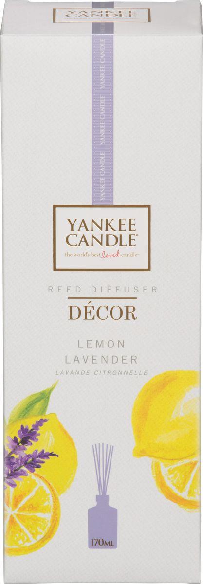 Диффузор ароматический Yankee Candle Лимон и лаванда, 170 мл2000000046662Насыщенный аромат смеси лимонных цитрусовых и сладких цветов лаванды.Верхняя нота: Мандарин, Лимон, ЛавандаСредняя нота: Фруктовые Ноты, Апельсин, Петитгрейн, ЭвкалиптБазовая нота : Ваниль, Оттенки Специй