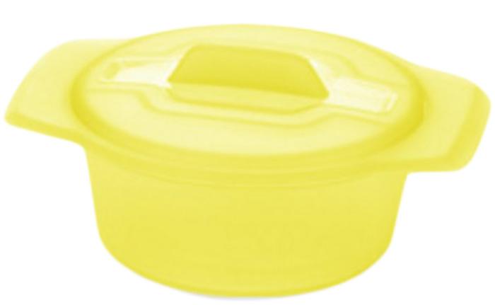 Миска Tescoma Fusion Diet Revolution, цвет: желтый, диаметр 15 см.115510Миска Tescoma Fusion Diet Revolution, цвет: желтый, диаметр 15 см.
