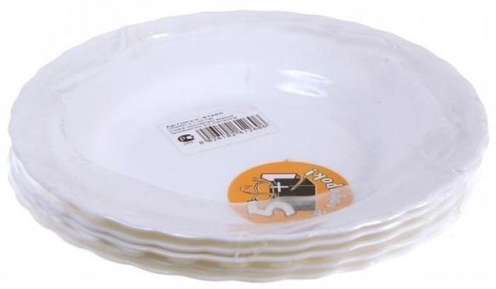 Тарелки суповые Luminarc ТРИАНОН 5 + 1PR7989Бренд Luminarc – это один из лидеров мирового рынка по производству посуды и товаров для дома. В основе процесса изготовления лежит высококачественное сырье, а также строгий контроль качества. Товары для дома Luminarc уважают и ценят во всем мире, а многие эксперты считают данного производителя эталоном совершенства.