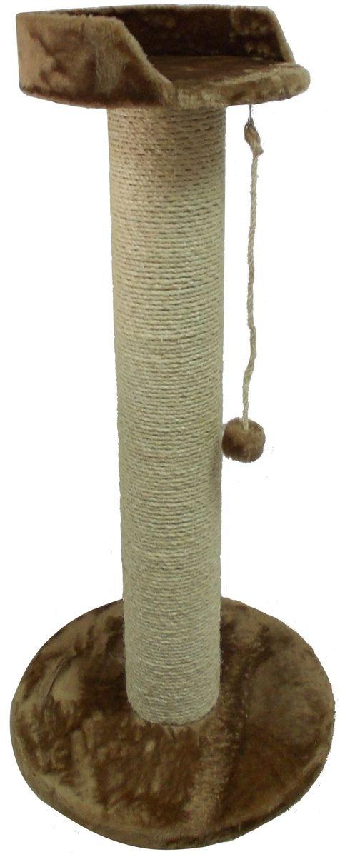 Когтеточка Пушок Мегаряпушка, цвет: дымчатый, 60 х 60 х 130 см4640000930639Когтеточка «Мегаряпушка» - очень высокая и супер-устойчивая когтеточка, вес которой 15 кг. Мощный и толстый столб имитирует ствол дерева, благодаря чему ваша кошка будет с удовольствием точить об него коготки. Когтеточка-столб обмотан высококачественной сизалевой веревкой, которая будет служить долго. Когтеточка займет совсем немного места в вашем доме и позволит вашему любимцу играть, отдыхать и точить коготки. Такая когтеточка идеально подойдет для кошек крупных пород (Мейн-Кун, Саванна, Британская кошка, Сибирская кошка и других).Ваша кошка сможет вытянуться во всю длину столба-когтеточки и с удовольствием поточить коготки.Основание: 60 х 60 см. Высота: 130 см.Диаметр лежанки: 40 см.Диаметр столбика когтеточки: 17 см.