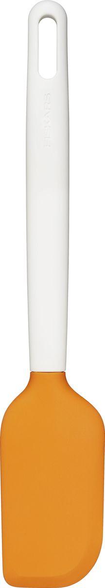 Скребок для теста Fiskars Functional Form1023615Скребок для теста Fiskars Functional Form идеально подходит для выпекания. Ассиметричный скребок позволяет тщательно удалять остатки теста из миски. Благодаря высококачественному пластику изделие не царапает поверхность.