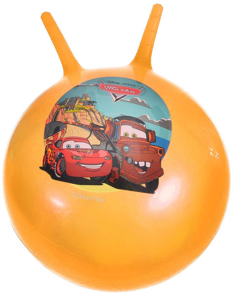 Играем вместе Мяч-прыгунок Тачки с рожками цвет желтый 55 см