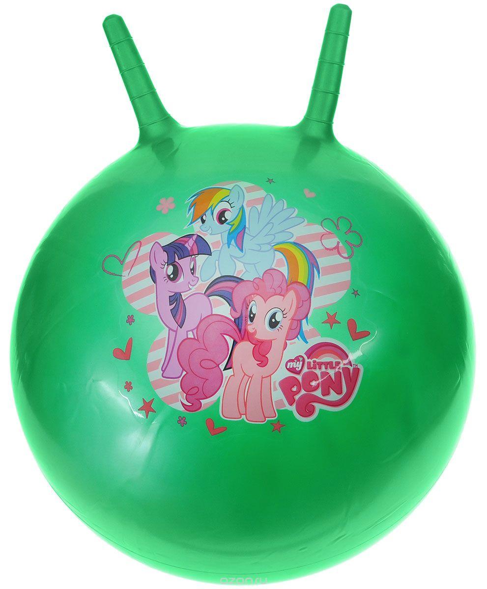 Играем вместе Мяч My Little Pony с рожками цвет зеленый 45 см